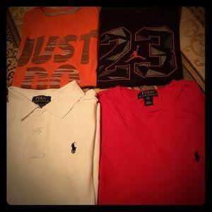 Boys Medium Polo Shirt, Nike Shirt, Jordan shirt
